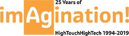 25th Anniversary Logo - HighTouch HighTech